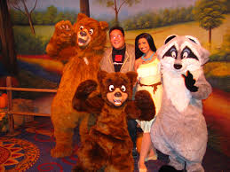 meeting koda kenai pocahontas and meeko a disney family flickr