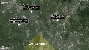 Montgomery Mall Map Maryland Suspect In Custody After 3 Deadly Shootings Abc News