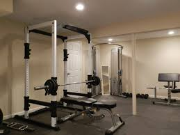 gym room ideas trendy basement home gym design and decorations