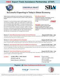 43100 by Export Trade Assistance Partnership Etap Program Coachella