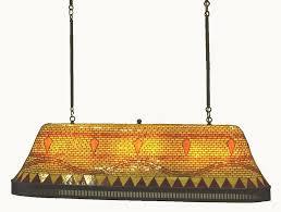 diamond mosaic pool table light peter fillerup