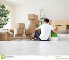 young couple moving house royalty free stock photo image 34674245