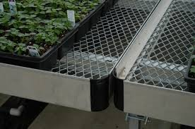 Metal Greenhouse Benches Bench Greenhouse Bench Lean To Series Width Sunglo Diy
