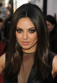 long black hair with part in the middle 5 imaginative ways to part your hair hairstyle blog