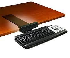 Office Desk Keyboard Tray 3m Keyboard Tray With Sturdy Wood Platform Tool Free