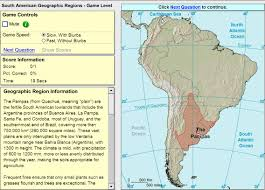 The Map Of South America by Interactive Map Of South America Geographic Regions Of South