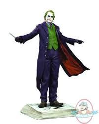 Heath Ledger Halloween Costume Dark Knight Joker Statue Kolby Jukes Heath Ledger Man