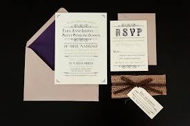 custom invitations tara and custom invitations light brown envelope and white