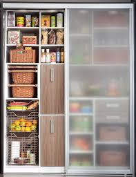 Modern Kitchen Pantry Designs - pantry sliding doors modern kitchen new york by transform home