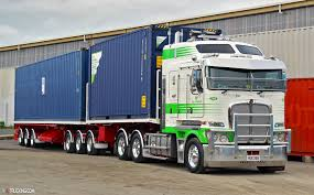 new kenworth bill this 34 wheeler is fleet number 292 of nzl new zealand