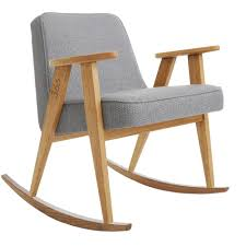 Wood Rocking Chair 366 Rocking Chair Tweed Grey U2013 366 Concept Design U0026 Lifestyle
