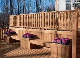 Trex Benches 15 Special Built In Bench Planters You Dream About