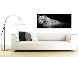 black white wall art shenra com large black and white canvas wall art of a tiger
