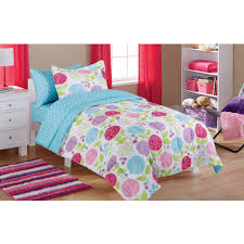Girls Basketball Bedding by Mainstays Kids Paris Bed In A Bag Bedding Set Walmart Com