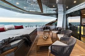 lexus yacht interior carlo mc105 yacht a stunning example of maritime innovation