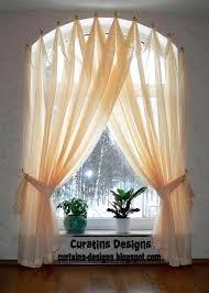 kitchen bay window treatment ideas window curtains ideas teawing co