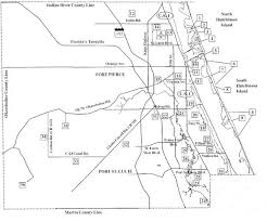 port st fl map birdwatching areas in st county florida map st