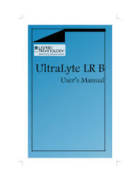 lti ultralyte lr b manual