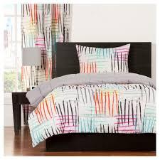 Grey Twin Bedding Geometric Comforter Sets