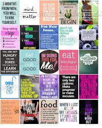 printable stencils quotes fitness and diet motivation stickers for life planners and