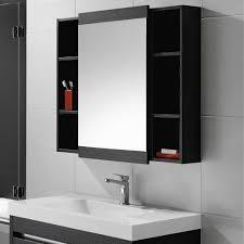 Black Mirror Bathroom Cabinet Storage Mirror Bathroom Diy In With Ideas 27 Quantiply Co