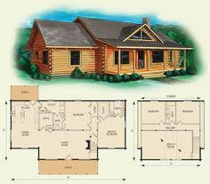 Log Lodges Floor Plans Finally A One Story Log Home That Has It All Click To View Floor