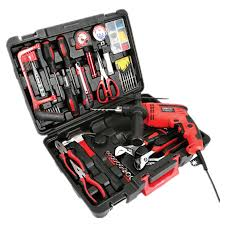 116pcs household electric tool kit sets combined home