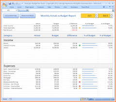 Excel Spreadsheet Template Budget 7 Sle Budget Spreadsheet Excel Excel Spreadsheets