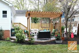 Houzz Backyard Patio by Small Backyard Patio Ideas Inspiration Home Depot Patio Furniture