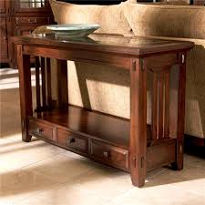 Standard End Table Height by Bedroom Outstanding Industrial Style Demilune Sofa Table