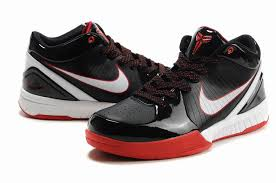 basketball black friday basketball shoes white nike zoom kobe iv shoes black white red