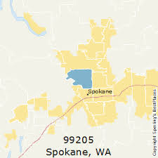 spokane zip code map best places to live in spokane zip 99205 washington