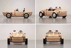 cars made by toyota toyota has made a concept car out of wood auto