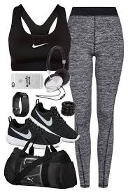 for the gym with nike items