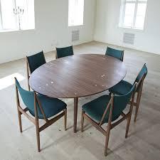 charming scandinavian dining room furniture danish teak chairs