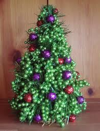 miniature decorated christmas trees christmas lights decoration
