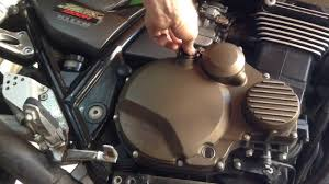 how to change the oil on a motorcycle youtube