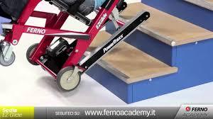 sedie per disabili per scendere scale ferno academy user 1 sedia ezglide powertraxx
