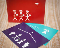 christmas cards curated by h is for home on etsy
