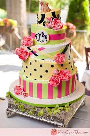 top 10 wedding cakes 2011 pink cake box