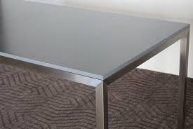metal desk with laminate top 6 office table with metal frame and gray laminate top dining