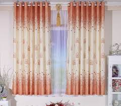 decorative short curtains for bedroom with sheer curtain and panel