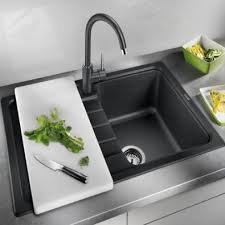 evier cuisine blanco evier cuisine evier meuble 45 cm coloris anthracite blanco sona 45 s