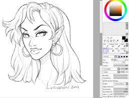 new sai sketch settings by luminosion on deviantart
