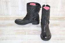 womens moto boots size 12 suede ankle boots s 12 us size ebay