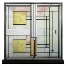 frank lloyd wright art glass stained glass art willets house skylight