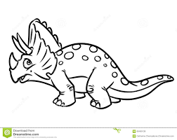 herbivorous dinosaur jurassic period coloring pages stock