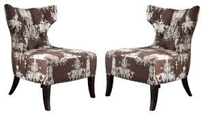 French Script Armchair Best Accent Chair Set Of 2 French Script Chair Ebay Facil Furniture
