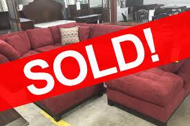 sectional sofas okc sold corinthian loxley sectional sofa ottoman 1476 bob