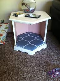 end table dog bed diy diy dog bed end table coral crumbs